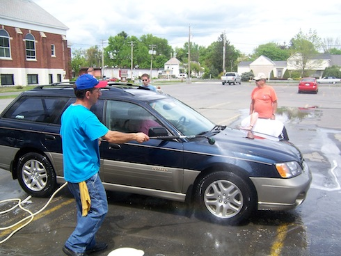 Fall Car Wash - Schenectady Bingo Palace