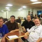 Fr. Greg, Fr. Zbigniew, Deacon Jim, Fr. Krzysztof