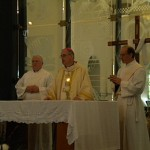 Holy Mass with Bishop Paul, Deacons Jim and Tom