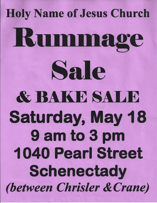 2013 Rummaage Sale