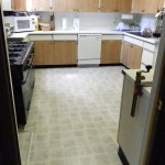 New flooring and dishwasher