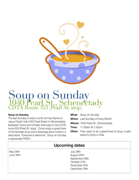 Soup on Sunday Flyer 3